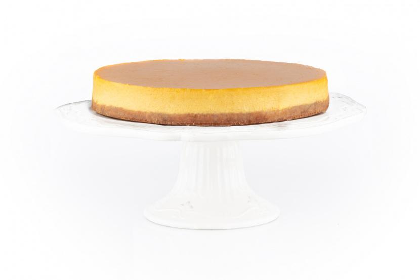 Mangový cheesecake s mangovým pyré