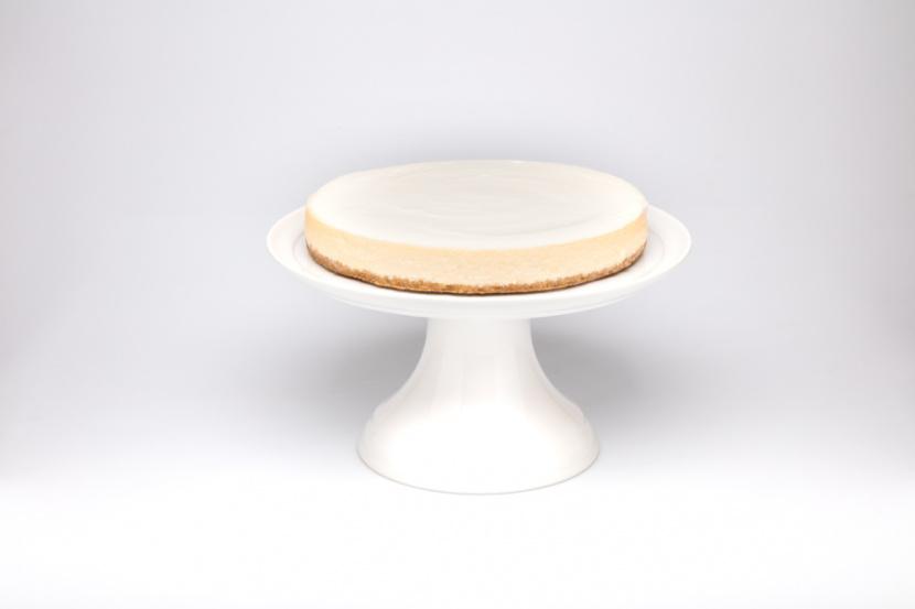 Vanilkový cheesecake (New York Style)