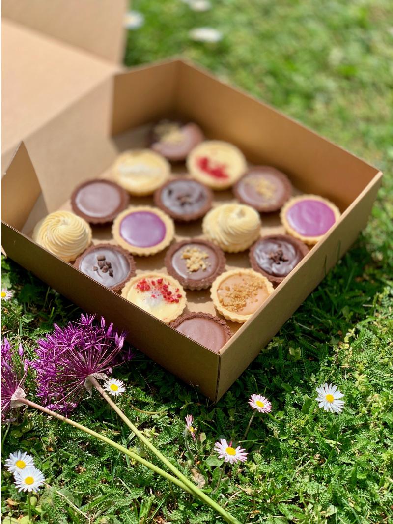 Svadobné výslužky, ochutnávkové MIX balíčky koláčikov /zákuskov