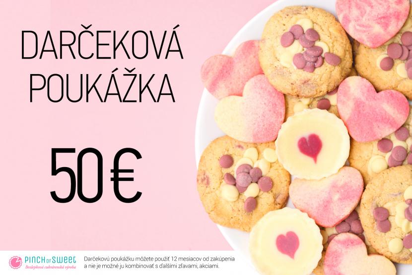Darčeková poukážka - 50€