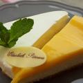 LOW CARB (Dia) Citrónový cheesecake s citrónovým krémom a LOW CARB (Dia) Vanilkový cheesecake