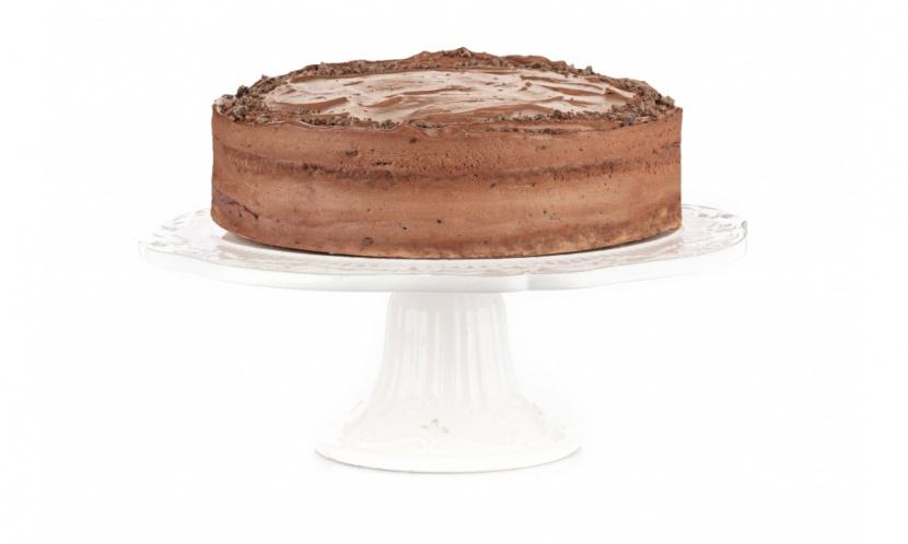 Čokoládovo-ríbezľová torta