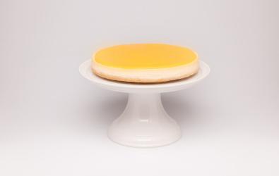 Citrónový cheesecake s citrónovým krémom - BEZ LAKTÓZY