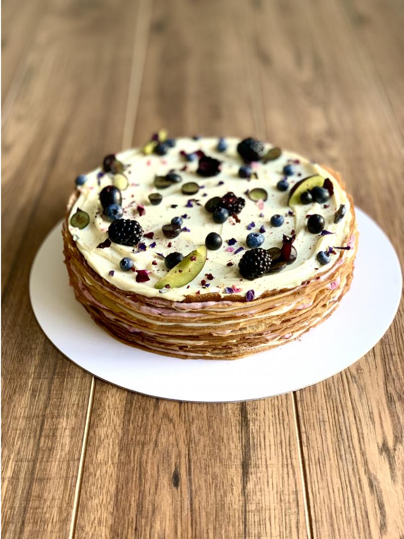 Svadobný Crêpe Cake