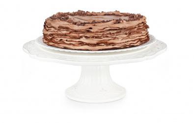 Čokoládovo-ríbezľový Crêpe Cake - BEZ LAKTÓZY