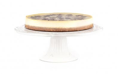 Cheesecake s bielou čokoládou
