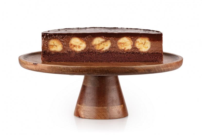 Čokoládovo-banánová torta - 12-14 porcií - BEZ LAKTÓZY