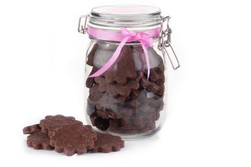Kakaové maslové keksíky