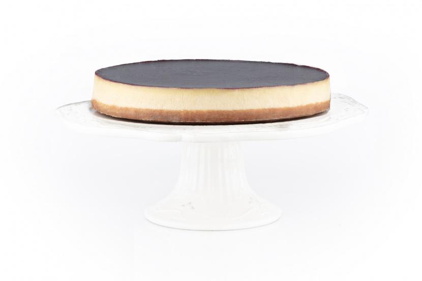 Vanilkový cheesecake s ovocným pyré BEZ LAKTÓZY
