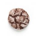 Čokoládové brownie crinkle cookies