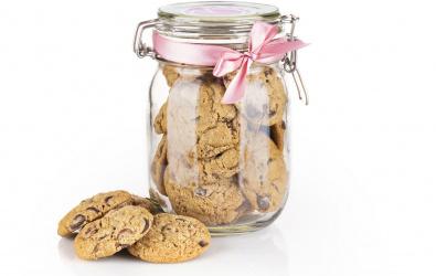 Cookies s mliečnou a horkou čokoládou