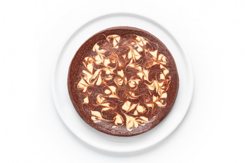 Čokoládovo-cheesecake-ové brownie
